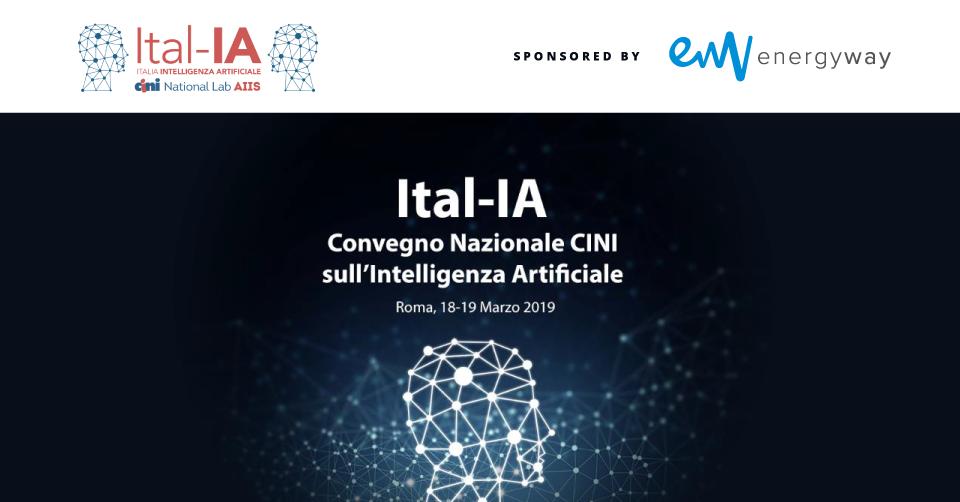 Energy Way Sponsor & Contributor @ Ital-IA 2019, Roma