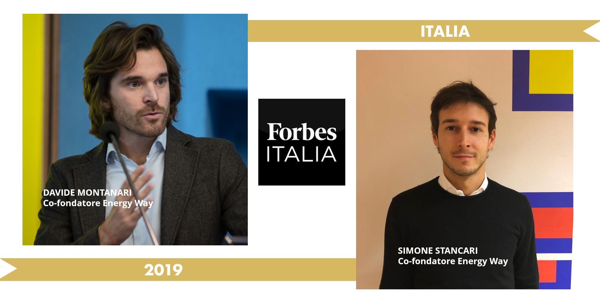 Energy Way scala il ranking di Forbes con 3 partner e ha il primato tra le società italiane